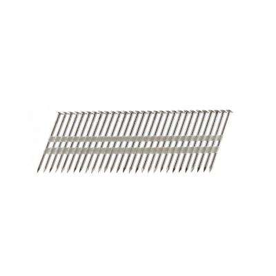 3-1/4 in. x 0.131 Plastic Collated Stainless Steel Ring Shank Framing Nails (500 per Box)