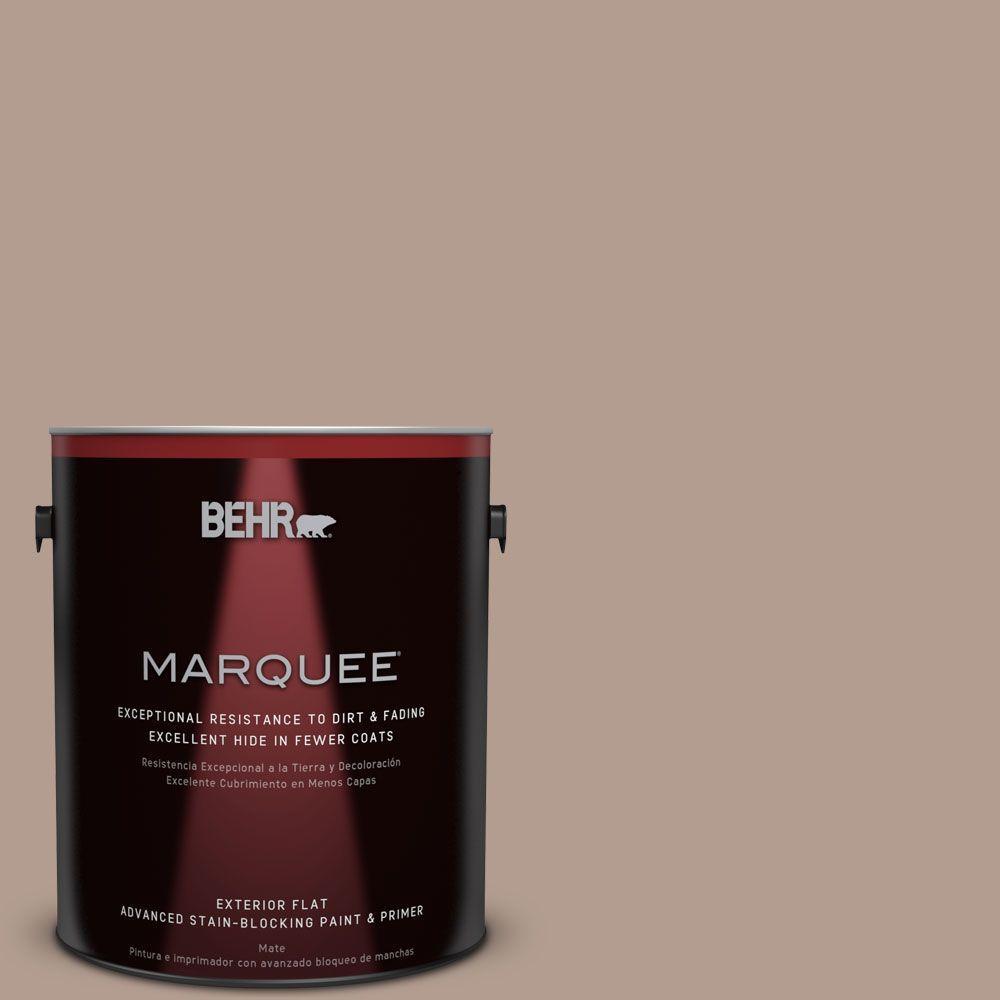 1-gal. #PPU5-15 Postmodern Mauve Flat Exterior Paint