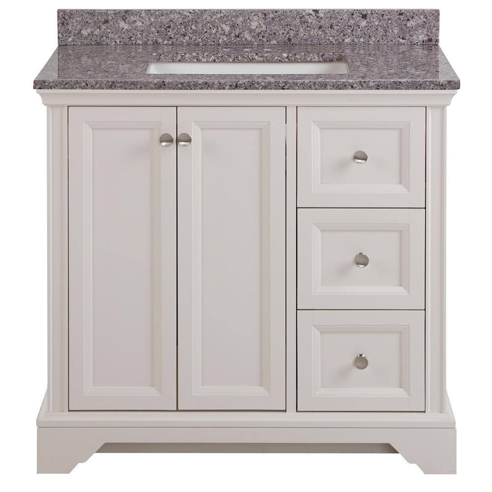 Home Decorators Collection Stratfield 37 In W X 22 D Bathroom Vanity