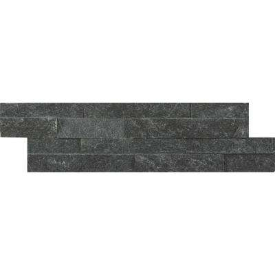 Coal Canyon Mini Ledger Panel 4.5 in. x 16 in. Natural Quartzite Wall Tile (5 sq. ft. / case)