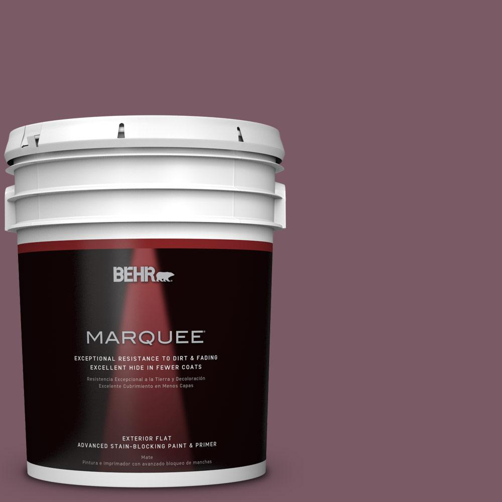 BEHR MARQUEE 5-gal. #ICC-84 Simply Elegant Flat Exterior Paint