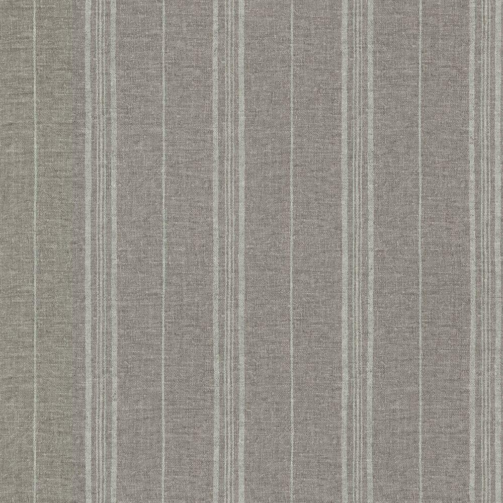 Calais Taupe Grain Stripe Wallpaper Sample