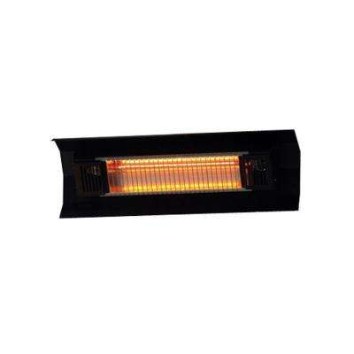 1,500-Watt Black Wall Mounted Infrared Electric Patio Heater