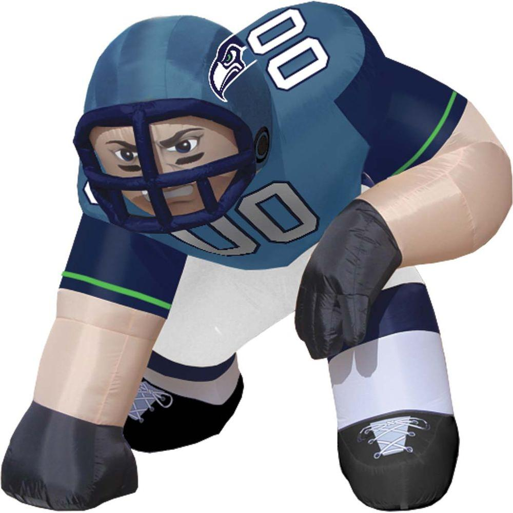 null 5 ft. Inflatable NFL Seattle Seahawks Player Bubba - $99 VALUE-DISCONTINUED
