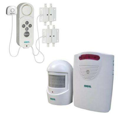 Pool Safety Bundle Gate Alarm with By-Pass and Motion Sensor with Wireleless Alert