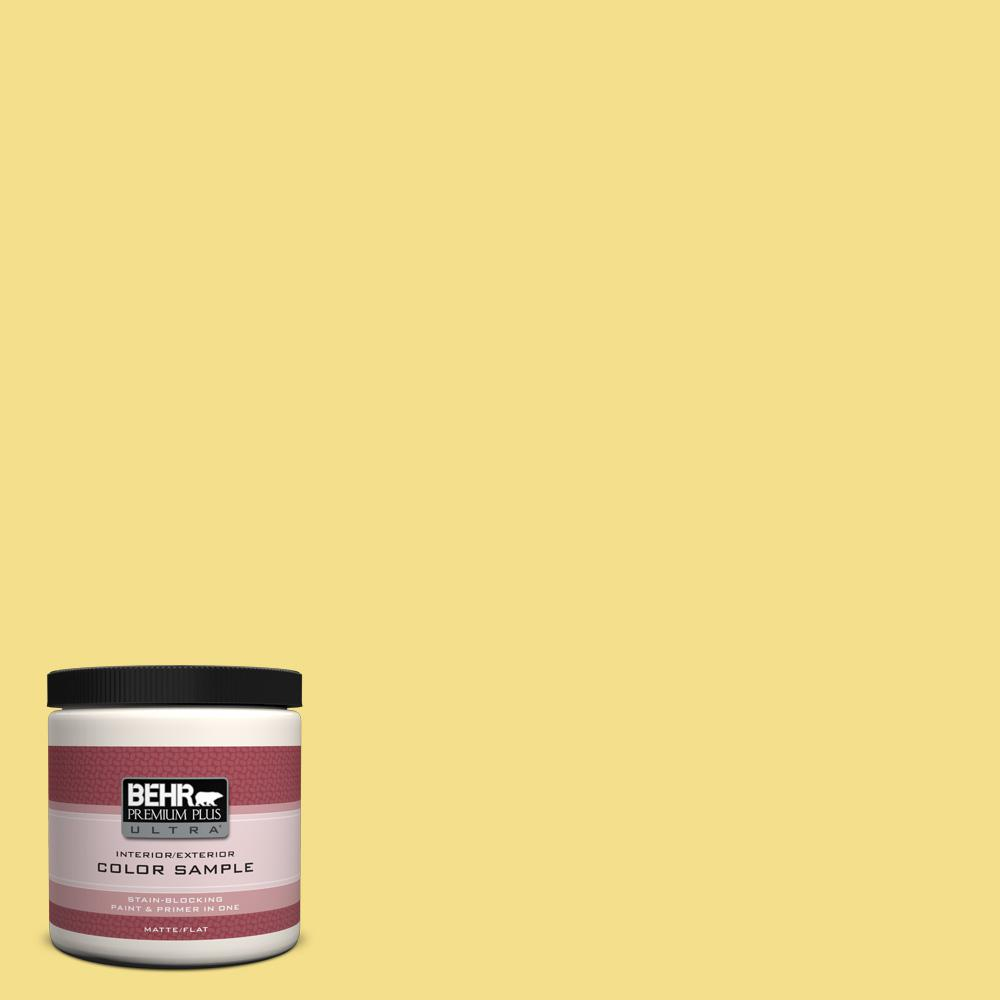 8 oz. #HDC-SP16-03 Lemon Curd Interior/Exterior Paint Sample