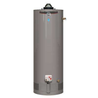 Performance Platinum 50 Gal. Tall 12 Year 40,000 BTU Natural Gas ENERGY STAR Tank Water Heater