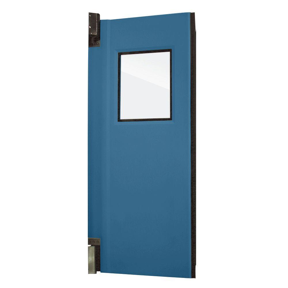 Aleco ImpacDor HD-175 1-3/4 in. x 36 in. x 84 in. Royal Blue Impact Door