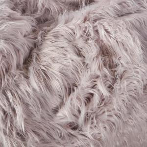 Incredible Noble House 5 Ft Lavender Long Faux Fur Bean Bag 19388 Inzonedesignstudio Interior Chair Design Inzonedesignstudiocom