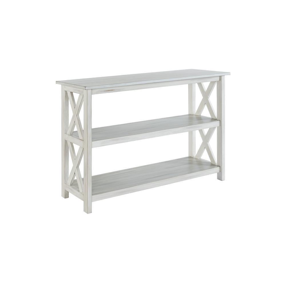 Jamestown White Wash Entryway Table