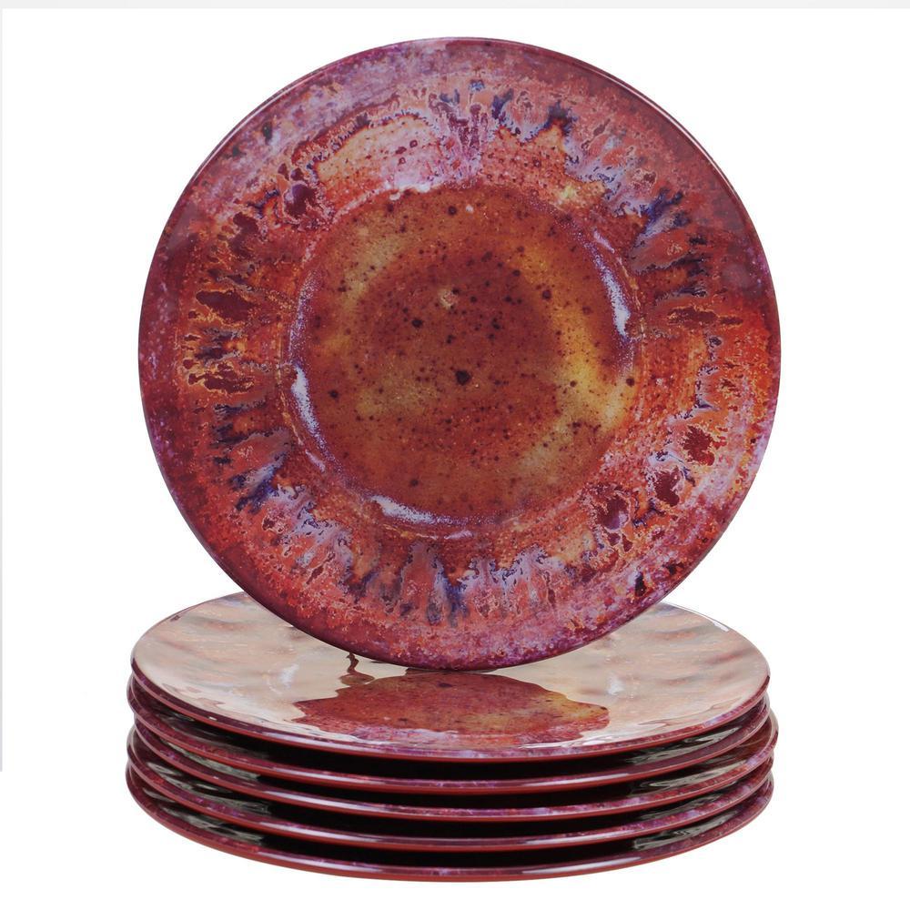 Radiance Multicolor Salad Plate (Set of 6)