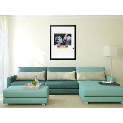 "30 in. x 22 in. ""La Chupada VIP Cohiba Cigar Series"" by Fairchild Paris Framed Print Ad Wall Art"