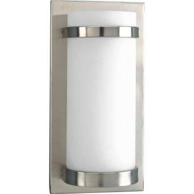 1-Light Brushed Nickel Sconce