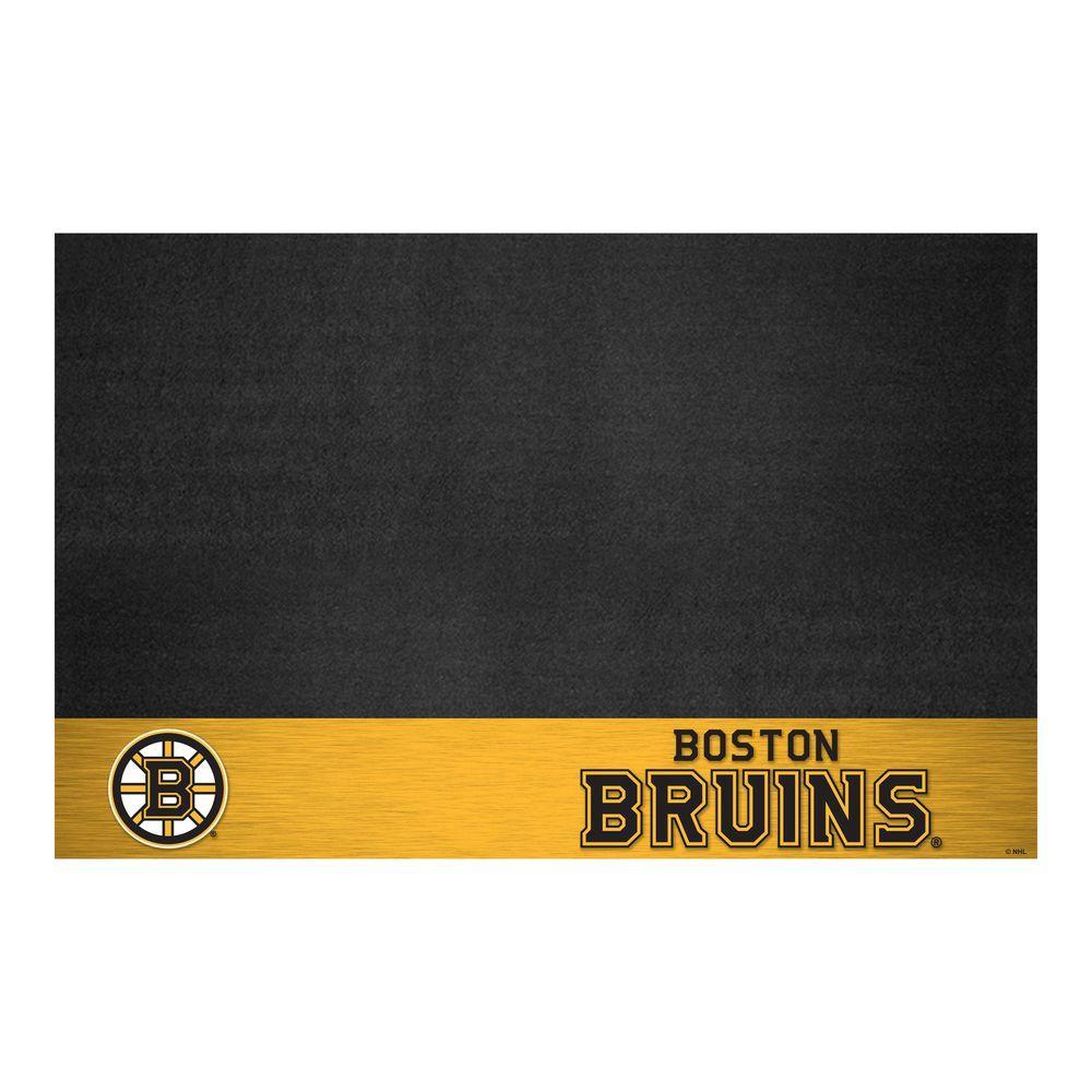 Boston Bruins 26 in. x 42 in. Grill Mat