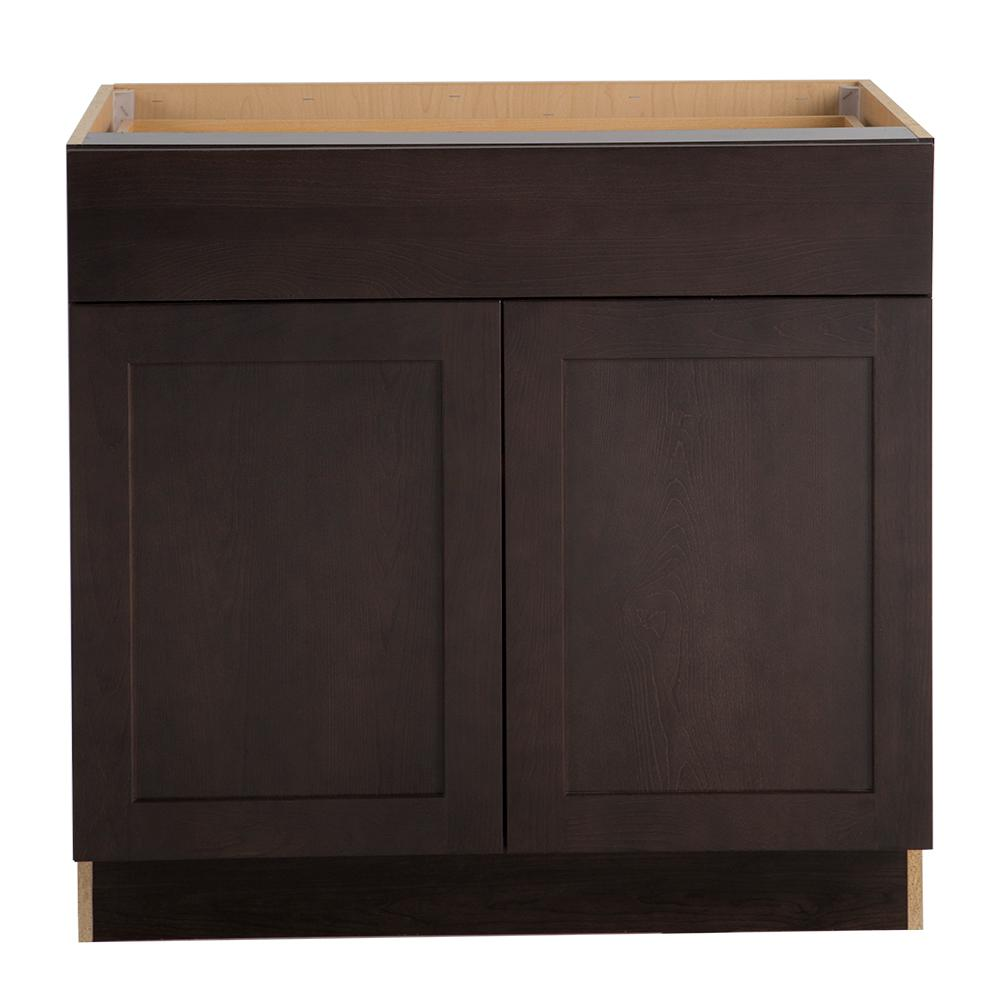 Cambridge Pantry Cabinets In Dusk: Hampton Bay Cambridge Assembled 36x34.5x24 In. Base