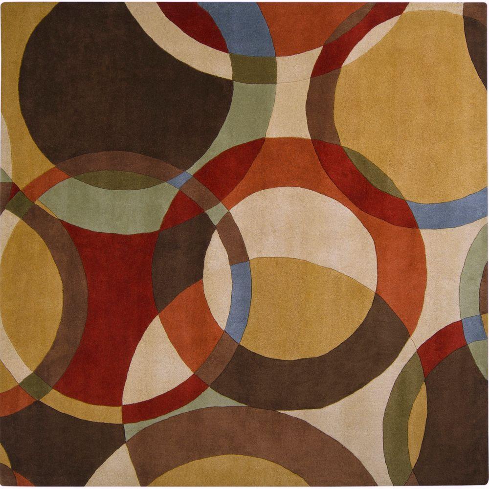 Artistic Weavers Seletar Brown 8 Ft