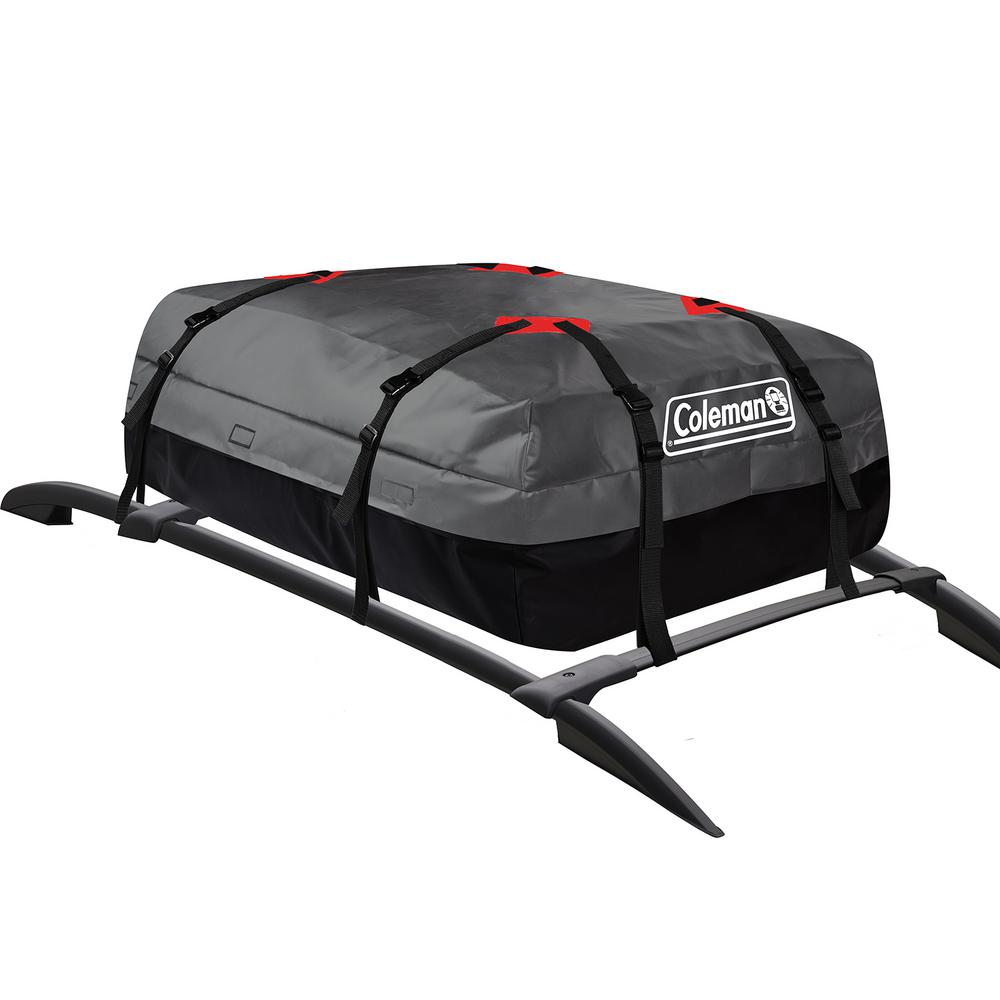 Coleman Waterproof Rooftop Cargo Bag with Storage Bag 10 cu. ft.