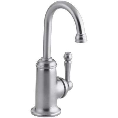 Wellspring Single-Handle Bar Faucet in Brushed Chrome