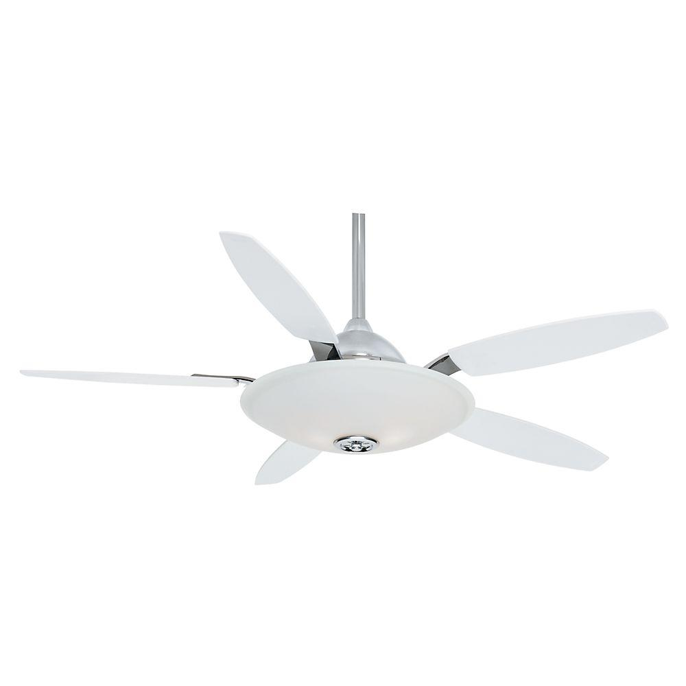 Casablanca Antion 52 in. Direct Touch Chrome Ceiling Fan-DISCONTINUED