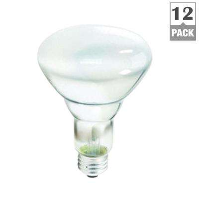 65-Watt Incandescent BR30 Flood Light Bulb Soft White (2700K) (12-Pack)