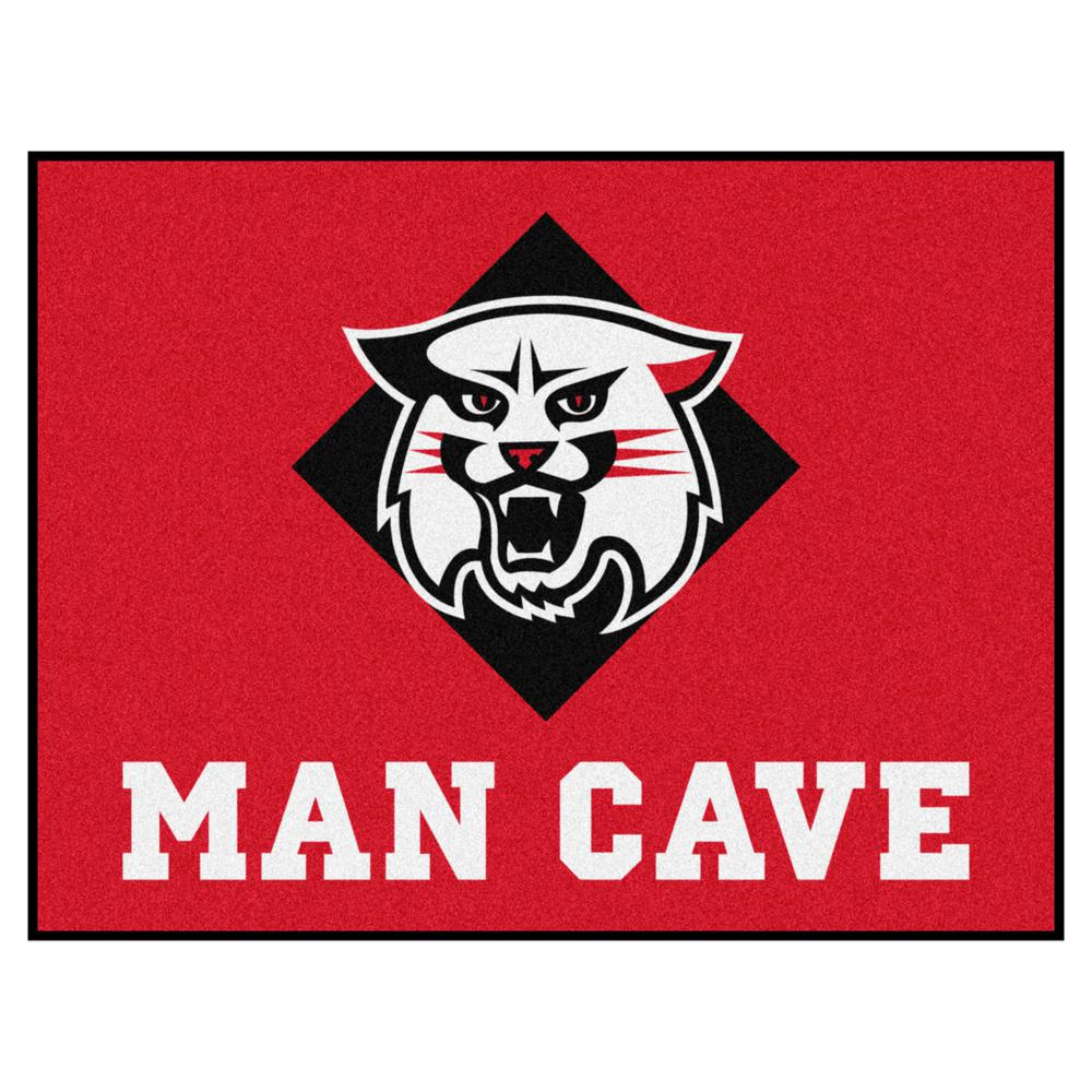 Fanmats Ncaa Davidson College Red 3 Ft X 4 Ft Man Cave All Star