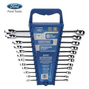 Metric Elliptical Combination Wrench Set (12-Piece) by