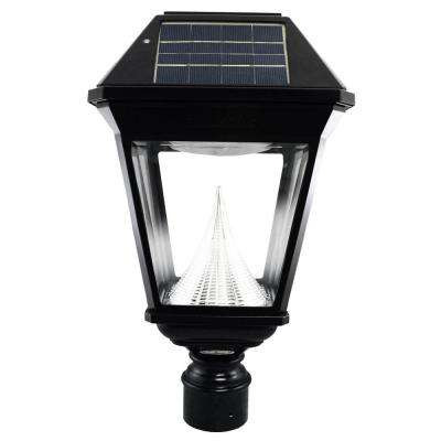 solar powered post lighting outdoor lighting the home depot