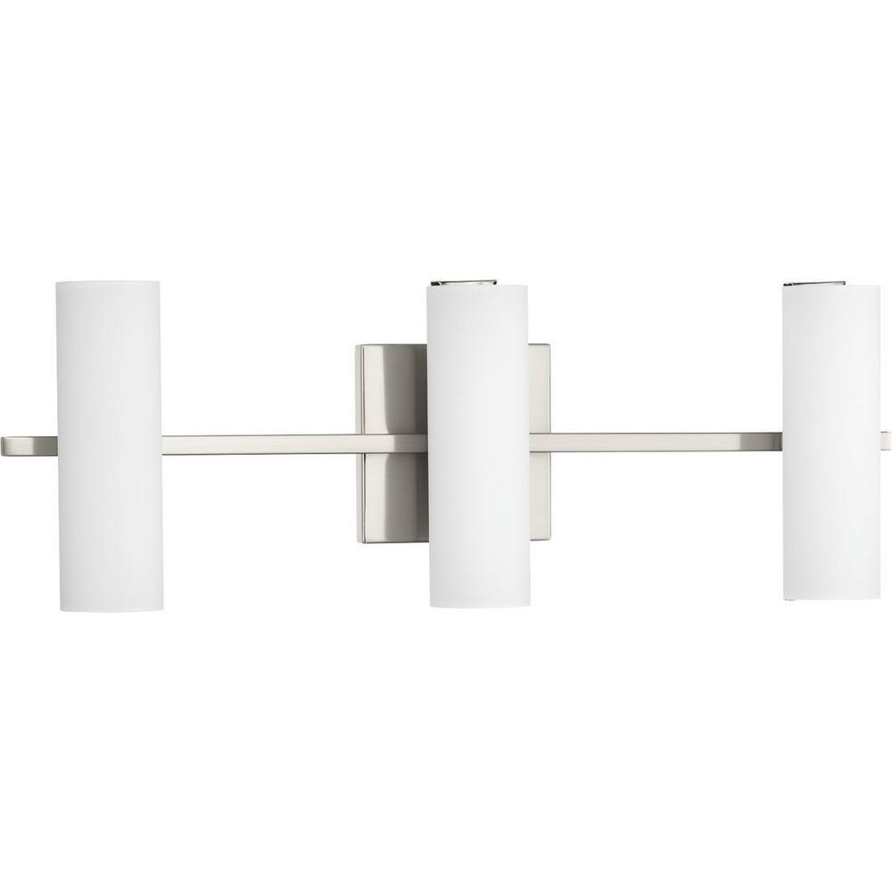 Colonnade LED 28.5-Watt Brushed Nickel Integrated LED Vanity Light Bar