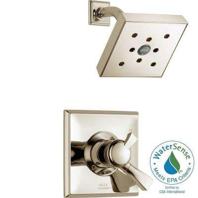 Dryden Single-Handle 1-Spray Shower Only Faucet Trim Kit in Polished Nickel (Valve Not Included)