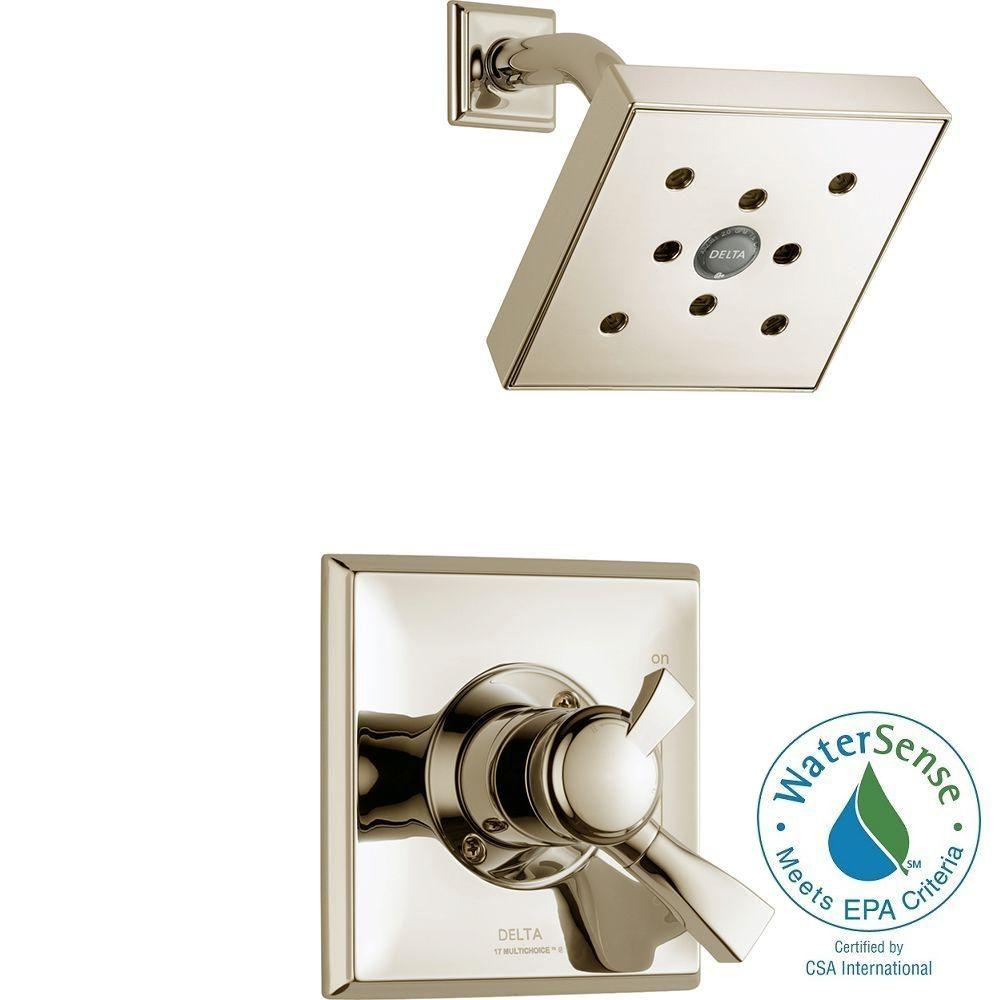 Delta Dryden Single-Handle 1-Spray Shower Only Faucet Trim Kit in ...