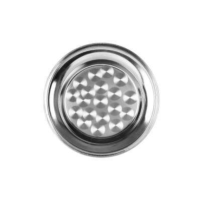 Stainless Steel 16 in. Round Tray