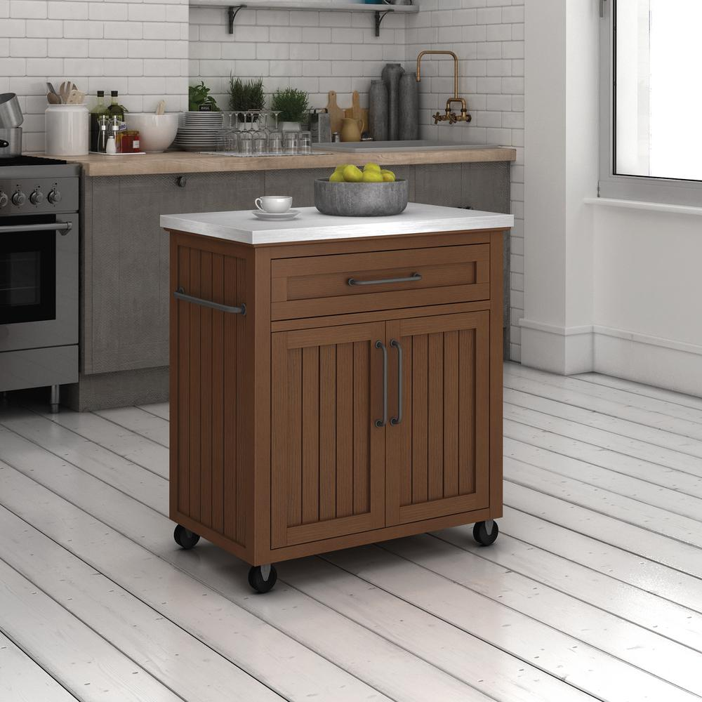 Chris Amp Pro Stadium Stainless Steel Kitchen Cart