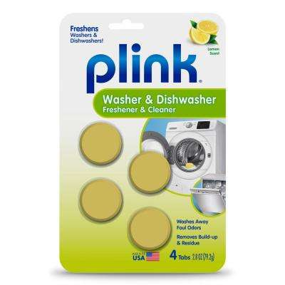 Plink 4-Count Washer and Dishwasher Freshener and Cleaner