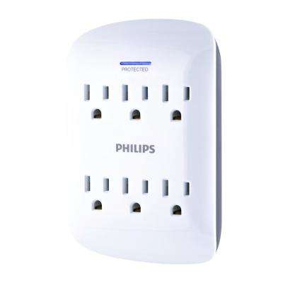 6-Outlet Surge Protector Tap