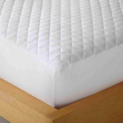 Box Stitched Heat Reflecting Queen Mattress Pad