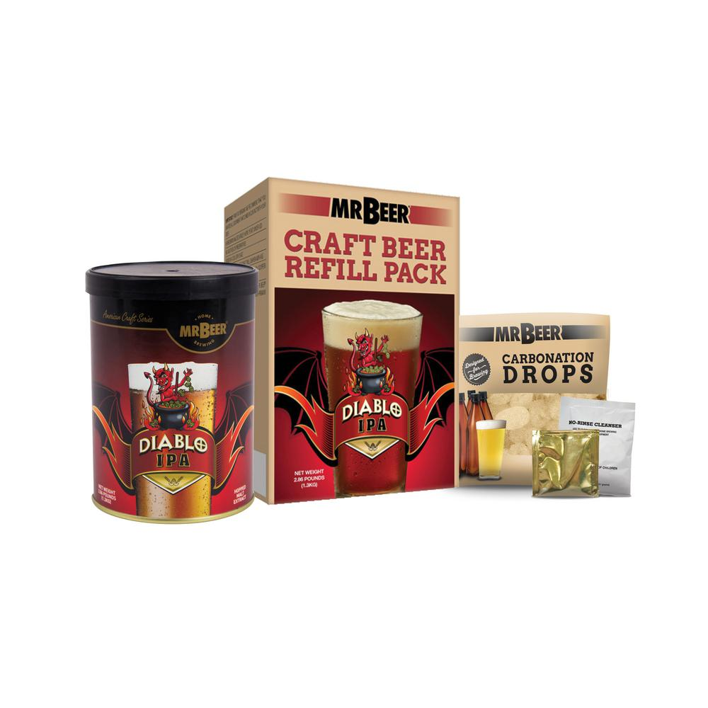 Diablo IPA Beer Brewing Kit