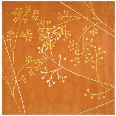 Soho Rust 8 ft. x 8 ft. Square Area Rug
