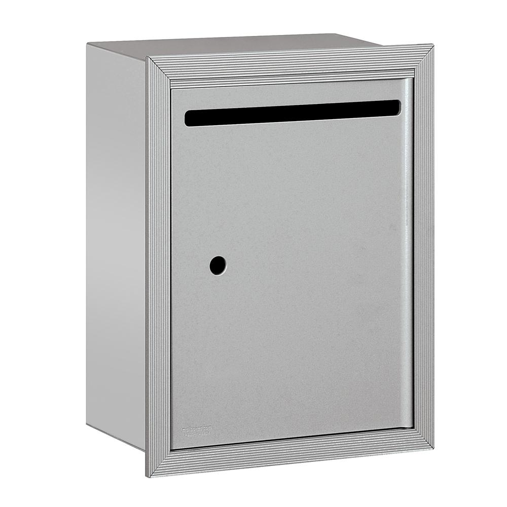 2240 Series Bronze Standard Recessed-Mounted USPS Letter Box