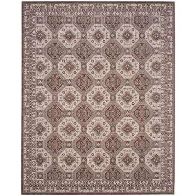 Artisan Brown/Ivory 8 ft. x 10 ft. Area Rug