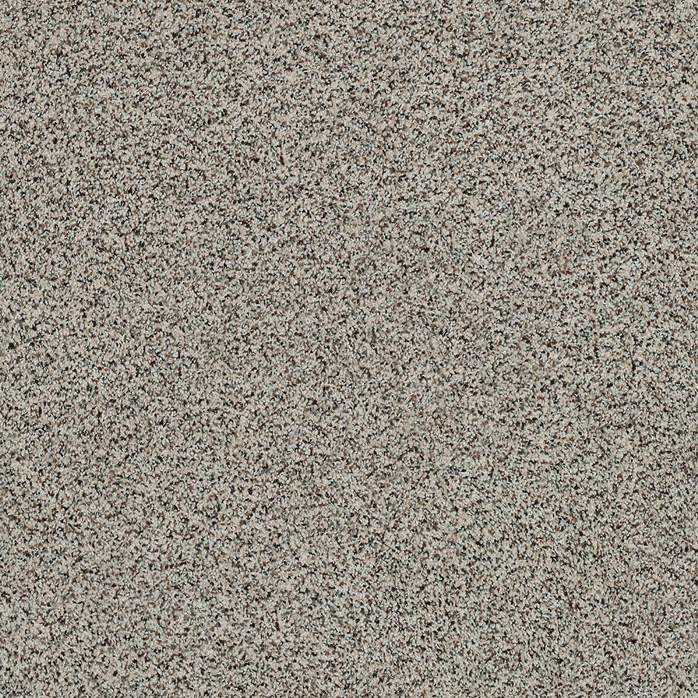 Carpet Sample - Madeline I - Color Sandstone Texture 8 in. x 8 in.