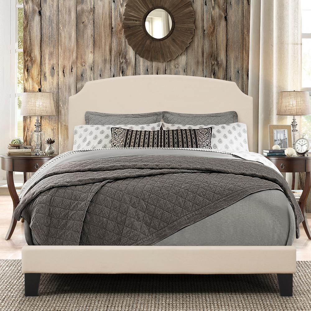 Hillsdale Furniture Desi Linen Full Bed in 1