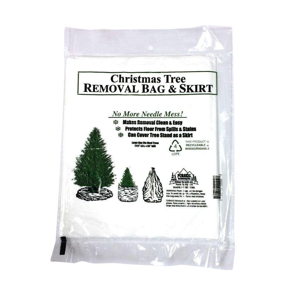 Christmas Tree Bags.Pursell S Christmas Tree Preservative Christmas Tree Removal Bag