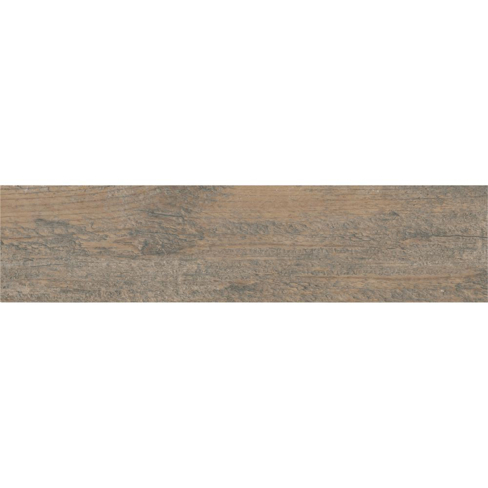 Marazzi Montagna Wood Weathered Gray 6 in. x 24 in. Porcelain Floor and Wall Tile (14.53 sq. ft. / case) -  ULS2624HD1PR