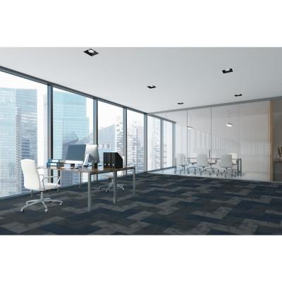 Jett Ties Loop 24 in. x 24 in. Carpet Tile (18 Tiles/Case)