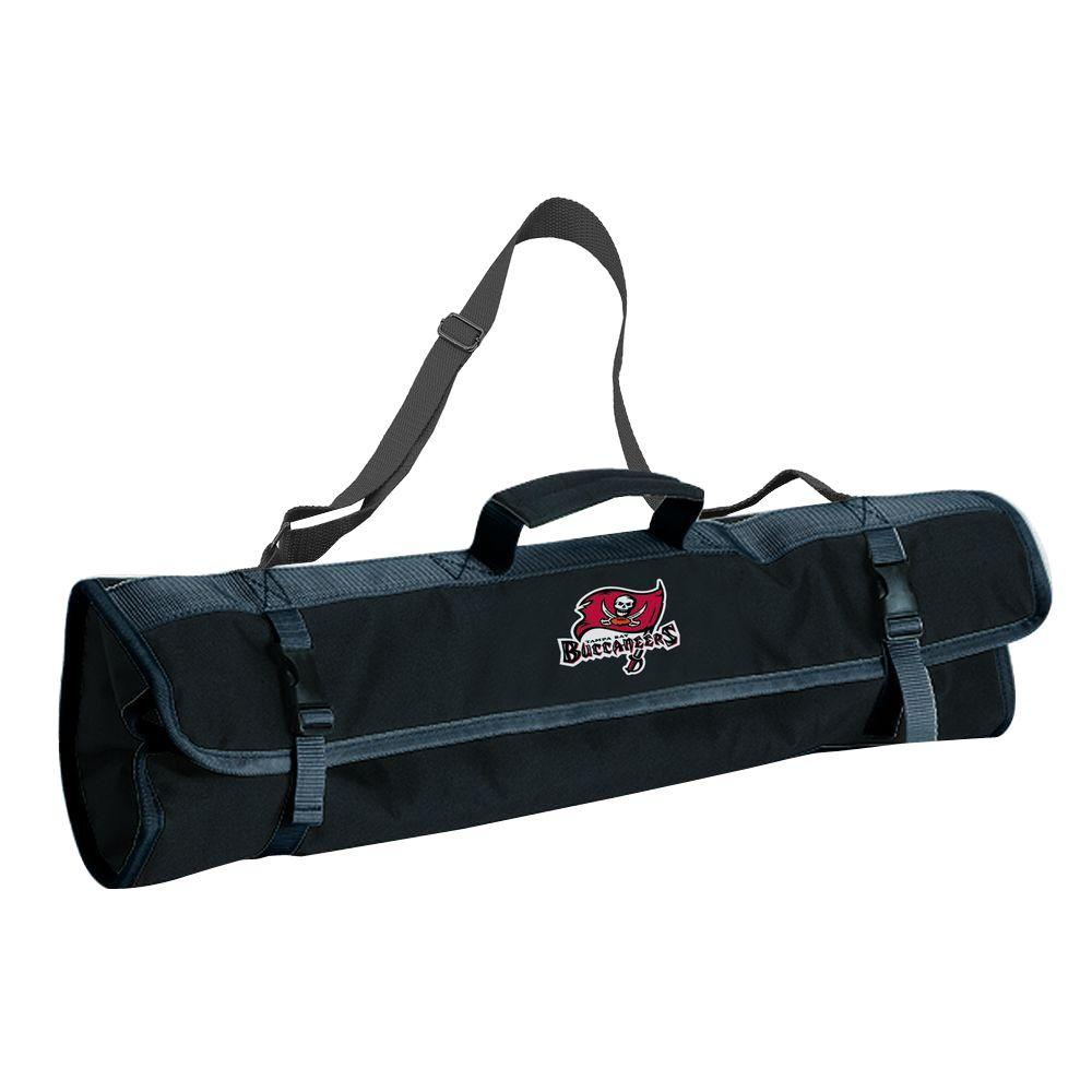 Tampa Bay Buccaneers 3-Piece BBQ Tote