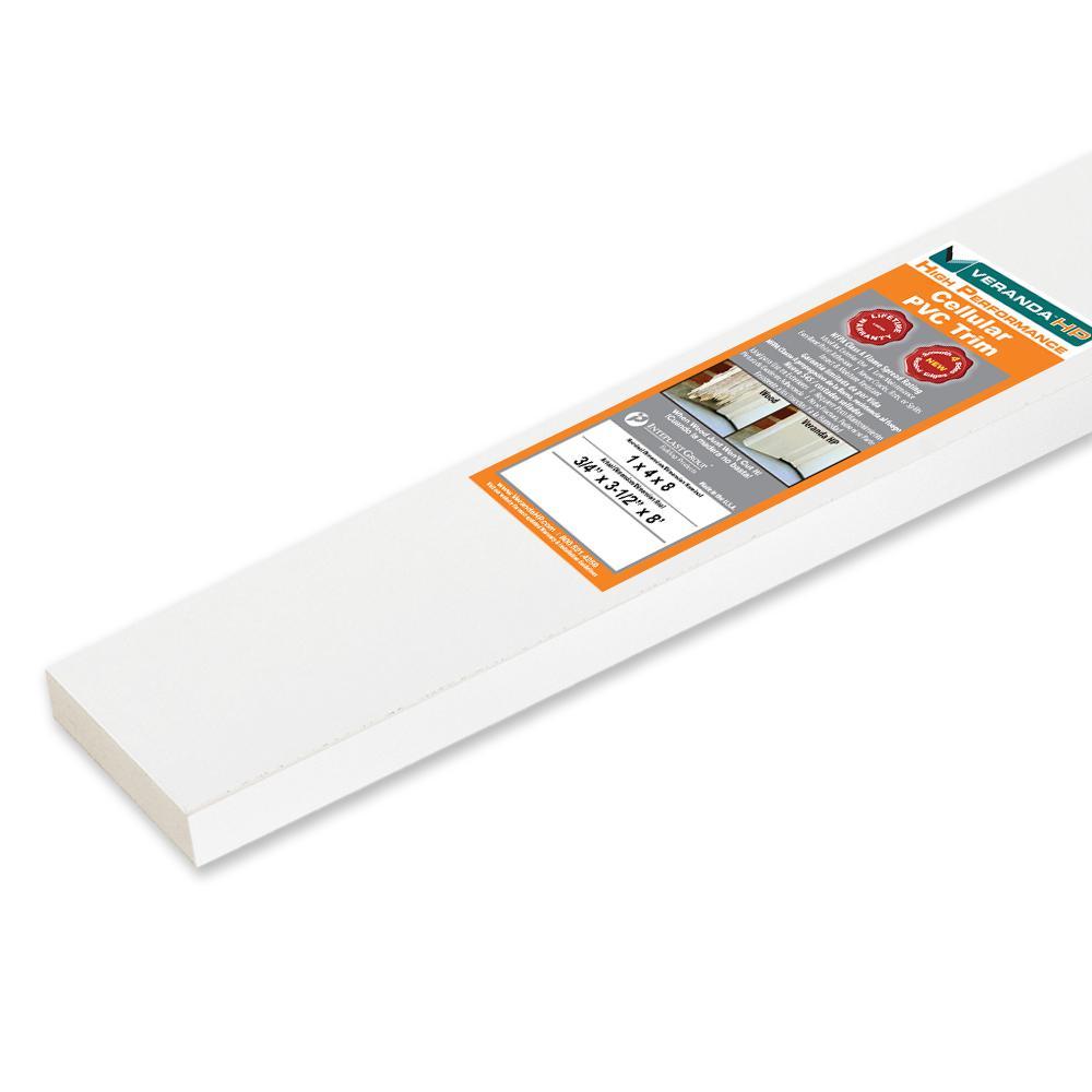 Veranda HP 3/4 in. x 3-1/2 in. x 8 ft. Cellular PVC Trim