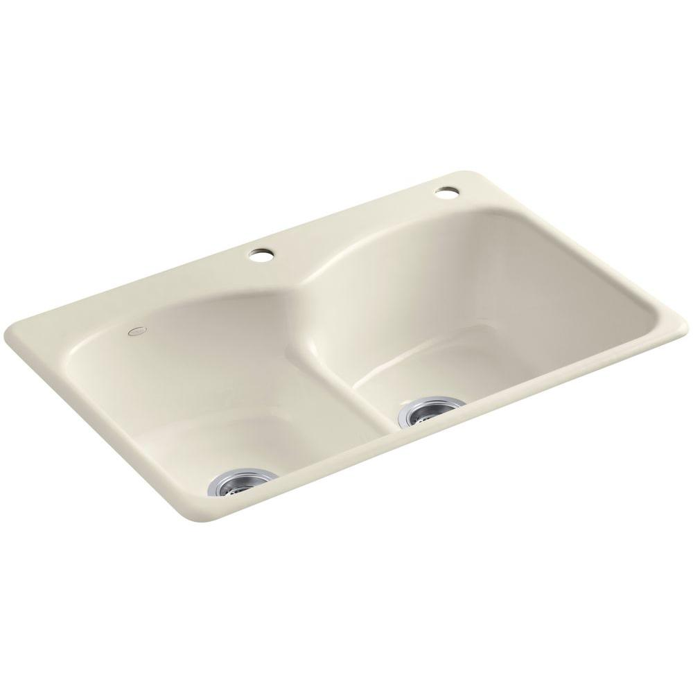 Kohler Langlade Smart Divide Drop In