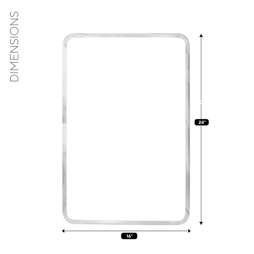 Stainless Steel Sink Frame Hudee Rim for 16 in. x 24 in. Rectangular Sink