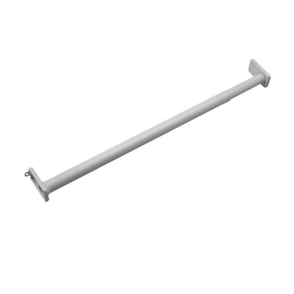 48 in. to 72 in. Adjustable Closet Rod