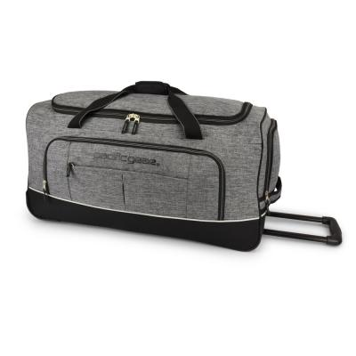 Keystone 30 in. Rolling Grey Duffel Bag